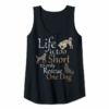 Order Life Is Too Short To Only Rescue One Dog   Foster Mom Gift - T-Shirt