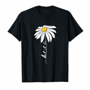 Adorable Let It Be Daisy Flower T-Shirt | Hippie Flower Gifts