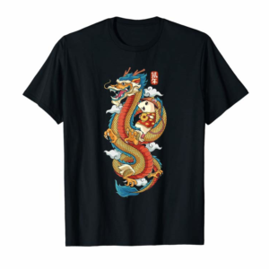 Adorable Chinese New Year Chinese Dragon Shirt Rat Riding Dragon T-Shirt