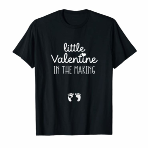 Adorable Womens Cute Funny Gift For Pregnant Wife Valentines Day Pregnancy T-Shirt