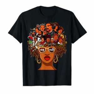 Adorable I Love My Roots Back Powerful History Month Pride DNA Gift T-Shirt