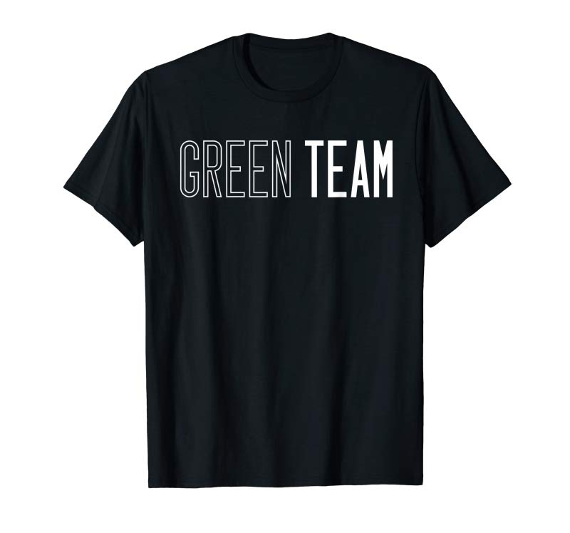 Trends Green Team Competition Sports Games Event Summer Camp Color T-Shirt