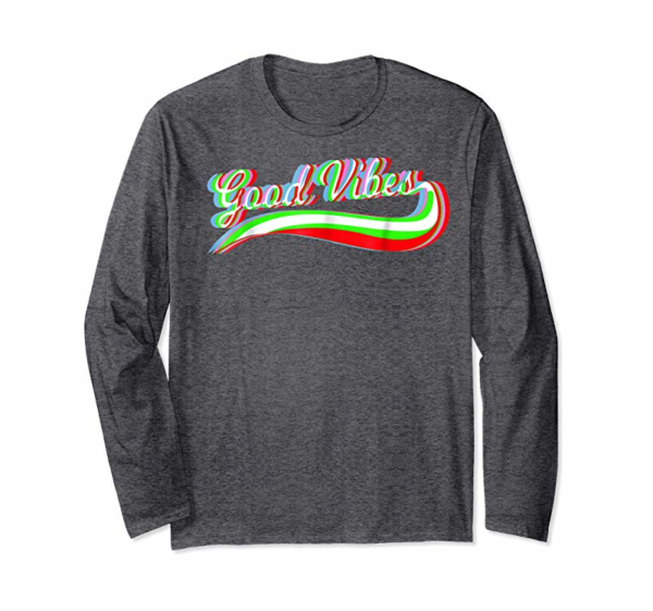Shop Cool Trippy Glitch Good Vibes Rave T-Shirt - Tail Raving Tee