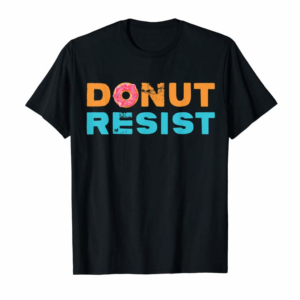 Trending Funny Donut Food Sweet Chef | Police Cop Appreciation Gifts T-Shirt