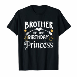 Shop Brother Of The Birthday Princess Matching Family T-shirt