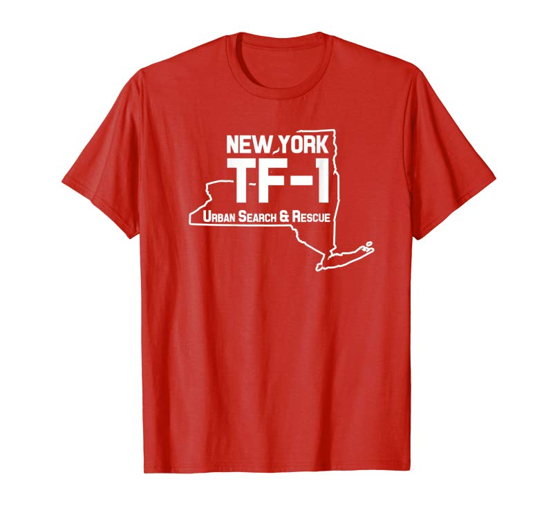 Buy Urban Search  Rescue New York Task Force 1 NY-TF1 T-Shirt