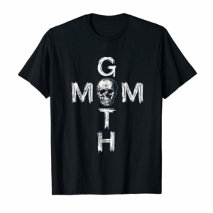 Adorable Gothic Mothers Special Day Skull T Shirt