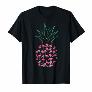 Buy Flamingo Pink Pineapple Funny Unisex Flamingo Lover T Shirts