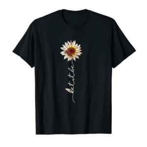 Order Now Let It Be Hippie Flower T-Shirt Gift For Women