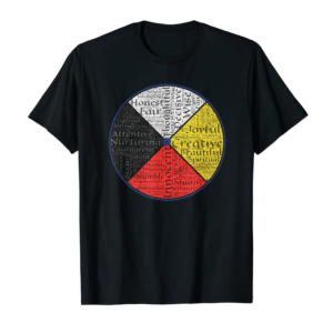 Order Now Native American Words Of The Medicine Wheel 1 T-Shirt