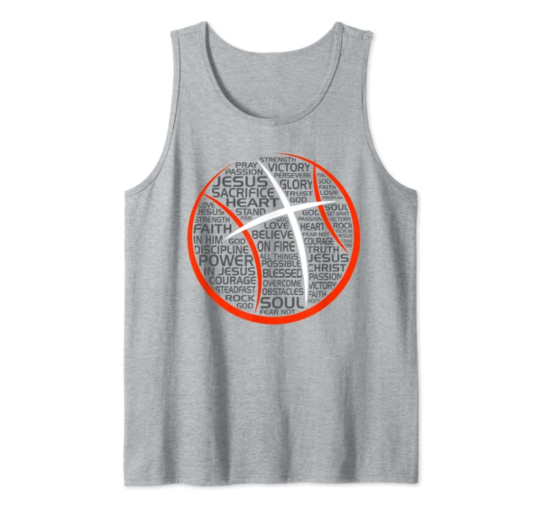 Trends Basketball Christian Athlete Jesus T-Shirt