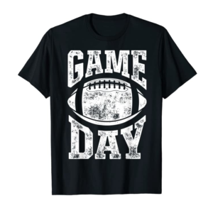 Buy Football Game Day Funny Team Sports Gifts Men Women Vintage T-Shirt