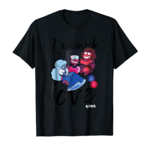 Trending CN Steven Universe I Am Made Of Love Graphic T-Shirt