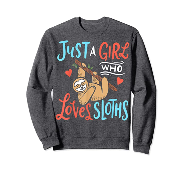 Order Now Just A Girl Who Loves Sloths T-Shirt